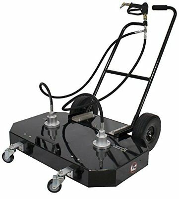 """Erie Tools 36"""" Hot and Cold Pressure Washer Aluminum Flat Surface Cleaner with 7"""