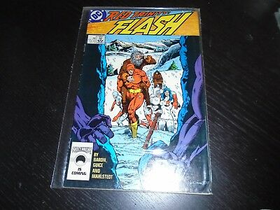 THE FLASH #7 Wally West DC Comics (2nd Series 1987) VF