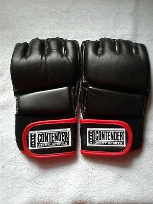 WOLDORF USA MMA Grappling Gloves Top grade genuine cowhide leather