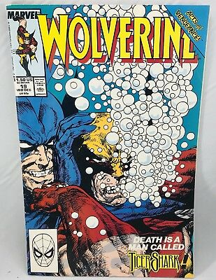 Wolverine #19 Comic Book December 1989, Marvel Comics