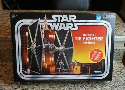 Imperial Tie Fighter STAR WARS The Vintage Collection Walmart EXCLUSIVE w Pilot