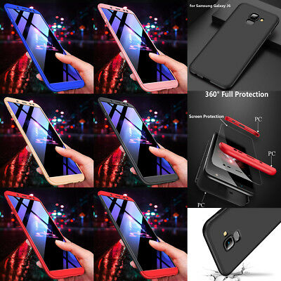 360 ° Full Body Protector Hard Cover Case +Film for Samsung J6 J8 2018 EU Note 9