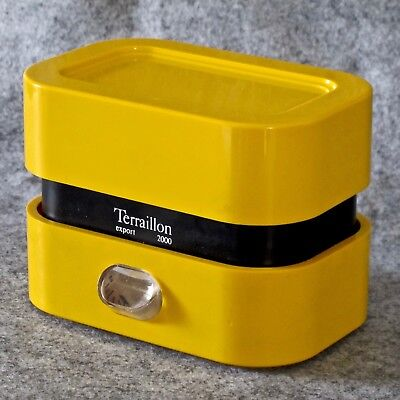 Terraillon Export 2000 5Kg Kitchen Scales in Yellow & Black, France, c.1976