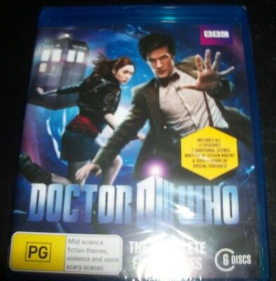 Doctor Who The Complete Fifth Series 5 (Australia Region B) Bluray – New