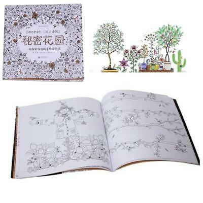 Secret Garden An Inky Treasure Hunt and Coloring Book by Johanna Basford NEW