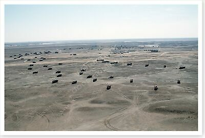 364th Supply Company Forward Logistics Camp Operation Desert Storm 8 x 12 Photo