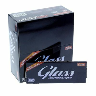 Glass Clear King Size - 1 Pack - Tree Free Thin Invisible Rolling Papers Roll