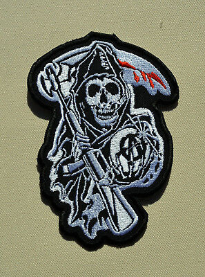 patch sons of anarchy 11/7.5cm, broder et thermocollant