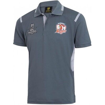 Sydney Roosters NRL 2018 Premiers Polo Shirt Sizes S-5XL! ** In Stock**