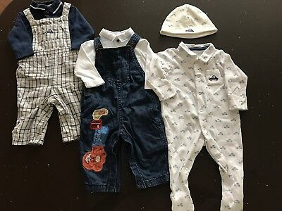 Boys Winter Clothing Bundle 3-6 months Marks And Spencer
