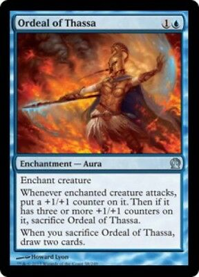 4 Ordeal of Nylea x4 4x Theros mtg NM//EX