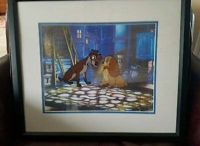 Lady and the Tramp limited edition animation Cel