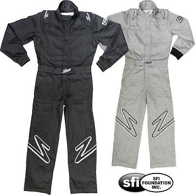 ZAMP - ZR-10Y Youth SFI-1 Rated Racing Suit Auto Kart 1-Piece Child's Fire Suit