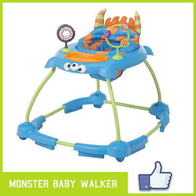 Baby Walker Ready, Set, Walk! Baby Sit-to-Stand Toddlers Adjustable Walker ✅