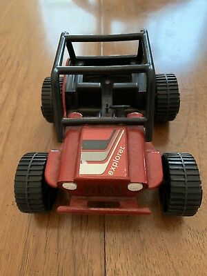 Tonka Jeep 1970s Dune Buggy Red Pressed Steel Vintage Toy Awesome Condition!