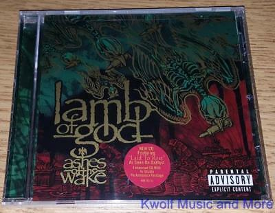 "LAMB OF GOD  ""Ashes Of The Wake""   (PA)  NEW   (CD, 2004)"