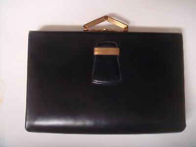 Evans Purse with Cigarette Lighter, Lip Stick, Cigarette Case, Comb and Compact