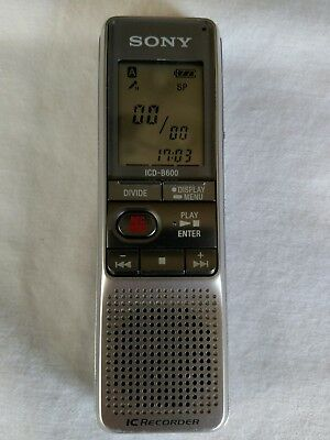 sony icd b600 ic recorder digital voice recorder just tested rh picclick com Sony Digital Voice Recorder Software Compare Sony Digital Voice Recorder