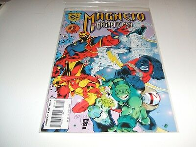 Magneto and His Magnetic Men #1 (Apr 1996, Marvel)