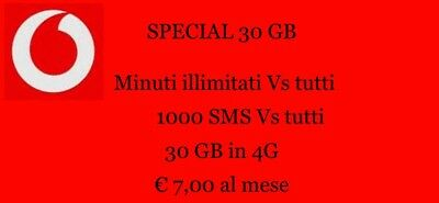 Coupon Vodafone - Special 30gb