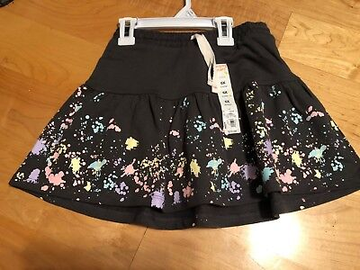 Jumping Beans Scooter Skirt Skort Ruffled Tiered New With Tags Girls Free Ship