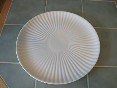 "Vintage Ernest Sohn Creations Large 14"" White Serving Platter Plate"