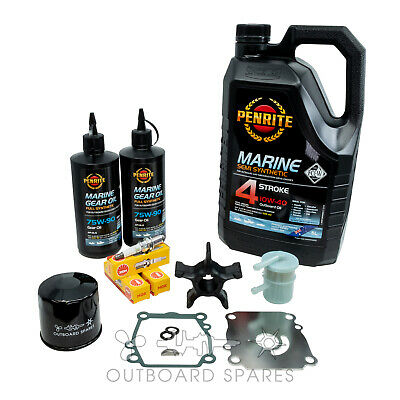 Suzuki Annual Service Kit with Oils for 140hp 4 Stroke Outboard