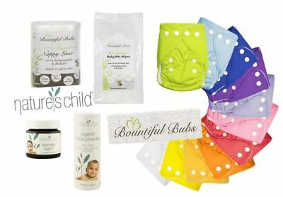 Newborn Essentials Combo Pack - Nature's Child & Bountiful Bubs