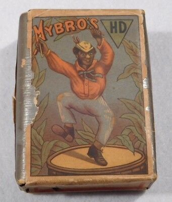 Early 1900's MYBRO'S HD Unopened Cigarette Package-Tabakindustrie Jules Loots
