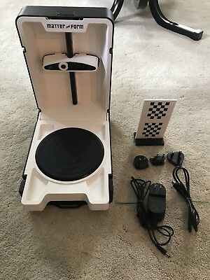 Matter and Form Portable 3D Scanner For 3D Printer (used)