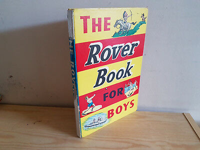 ROVER BOOK FOR BOYS 1958 from Rover Comic - D. C. Thomson