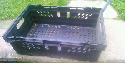 Plastic stacking trays £1 each