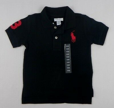 Ralph Lauren baby Boys' Short Sleeve Cotton Polo Shirt Top sizes 12,18, 24 month
