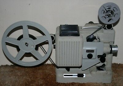 Eumig P8 Phonomatic - Standard 8mm Cine Film Projector Silent - With Case