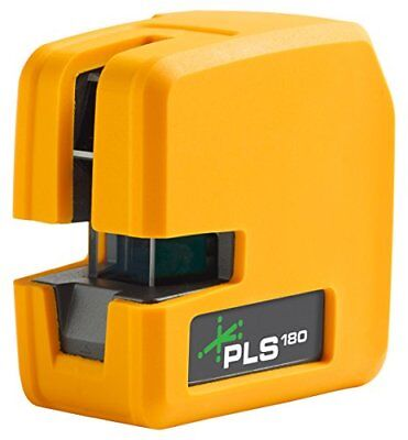 PLS 180 Green Cross Line Laser Level PLS-60596N by Pacific Laser Systems