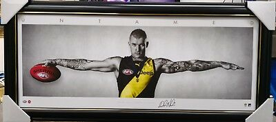 Dustin Martin Richmond Mini Wings Print Framed - Official Afl Licensed