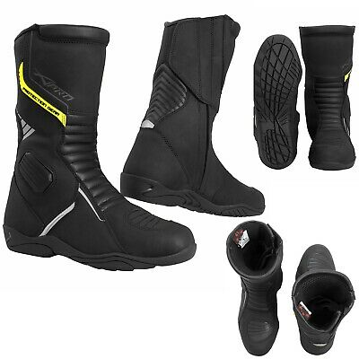 Waterproof Motorcycle Boots CE Certified Motorbike Touring Paddock Breathable