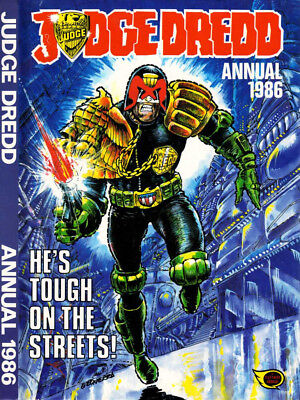 JUDGE DREDD ANNUAL 1986 Used Excellent Condition