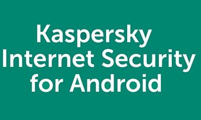 Kaspersky Internet Security  for ANDROID 1 Mobile 1Tablet 1 Device 1 User 2019