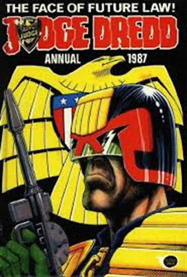 Judge Dredd Annual 1987. Fleetway. Great condition.