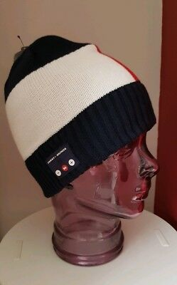 TOMMY HILFIGER ONE Size Beanie Hat with Bluetooth Earphones - EUR 65 ... c77ae7e9451
