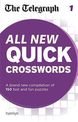 The Telegraph: All New Quick Crosswords 1 (The Telegraph) NEW Paperback Book