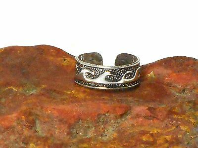 Adjustable  TOE  RING  Sterling  Silver  925  -  Gift Boxed!