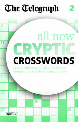 The Telegraph: All New Cryptic Crosswords 2 (The Telegraph) NEW Paperback Book