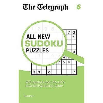 The Telegraph All New Sudoku Puzzles 6 (The Telegraph) NEW Paperback Book