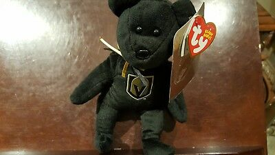 "2018 NEW NHL Las Vegas Golden Knights 8"" Ty Beanie Baby Hockey Bear"