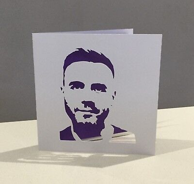 Papercut Gary Barlow Take That Birthday Card Wall Art Gift Present Ticket Wallet
