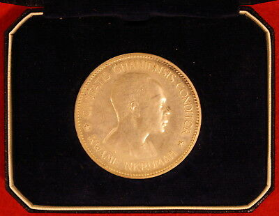 1958 Ghana 10 Shillings Elizabeth II Independence of Ghana - Proof in Orig. Box