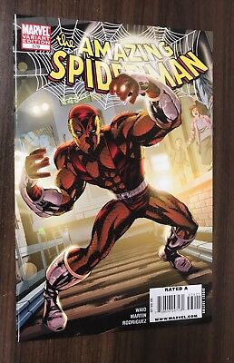 AMAZING SPIDER-MAN #579 -- McKone Villain VARIANT -- NM- Or Better