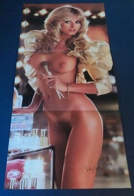 Playboy CENTERFOLD - August, 1982  CATHY ST GEORGE